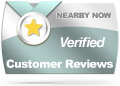 Neraby Now Verified Customer Reviews Badge